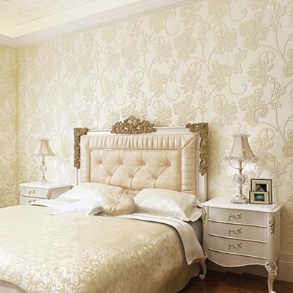 3D Floral Design Flower Pattern Background Home Decoration Wallpaper