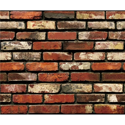 (Brick) 3D Brick Pattern Background Furniture Refurbished Contact Paper PVC Self-Adhesive Waterproof Wallpaper Sticker
