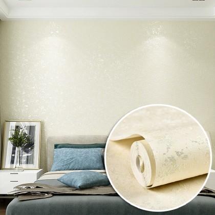 3D Modern Simple Style Plain Beige Color Background Interior Fashion Design Home Decoration Non Adhesive Wallpaper