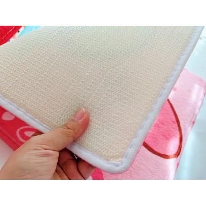 my melody background home decoration carpet door mats (Size: 40cm x 60cm)
