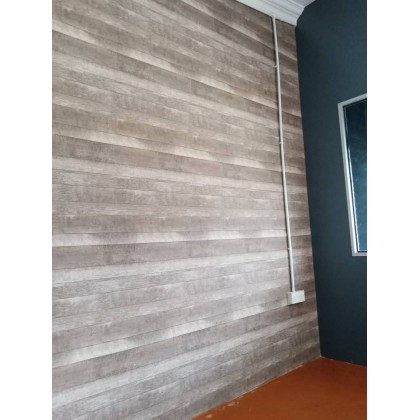 Wood Pallet Wallpaper Non Adhesive Thick Home & Shop Wallpaper