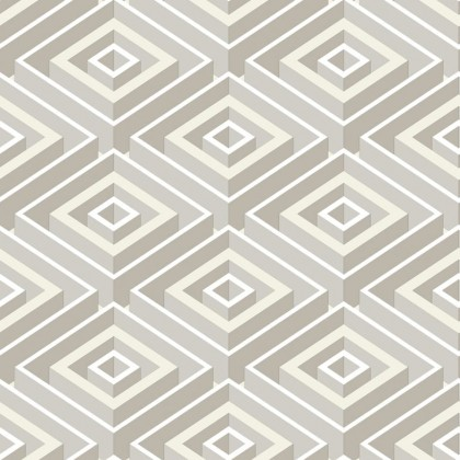 3D Square Abstract Wallpaper Non Adhesive  Home Wallpaper
