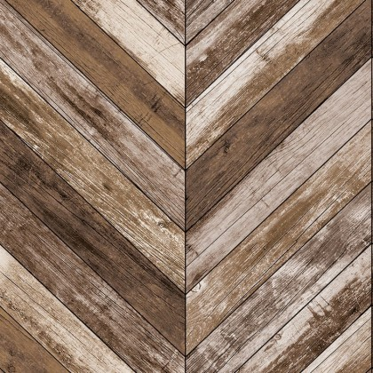 Chevron Wood Rustic Wallpaper Non Adhesive Home Wallpaper Best Quality