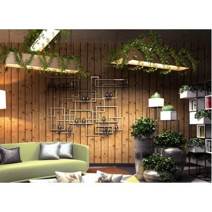 3D Wooden Vintage Wallpaper for Cafe, Shop and Home Decoration
