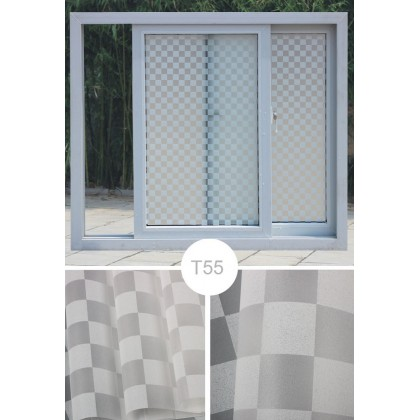 Square Pattern Background DIY Privacy Glass Window Tinted Window Shading Film Tinted