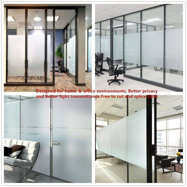 Hot Selling Diy Frosted Privacy Window Glass Shading Tinted