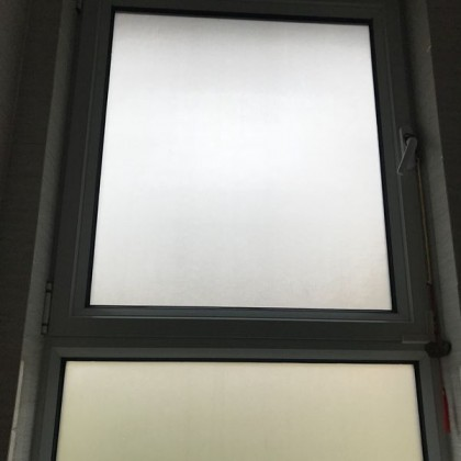 DIY Frosted Privacy Window Glass Shading Tinted Film Tint White Glass Effect