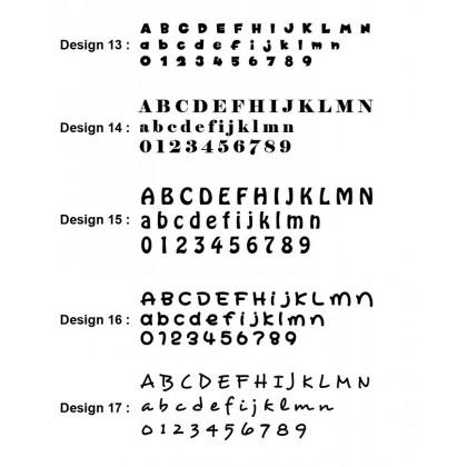 3D Acrylic Custom Made Alphabet & Number-AC0123