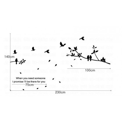 Freedom Bird First Generation Wall Sticker -TZ2061