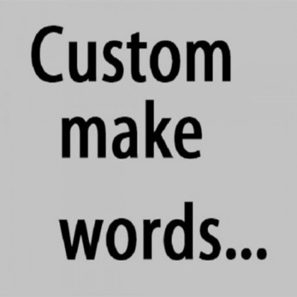 Customizable Wording Stickers You Need- ZY1268