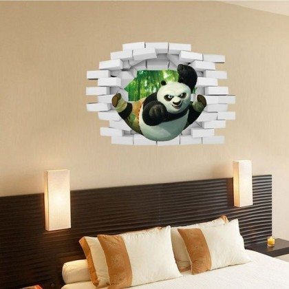 3D Kung Fu Panda Wall Art Decoration -TY3005