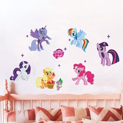 My Little Pony Wall Art Decoration Sticker-TYZY1425