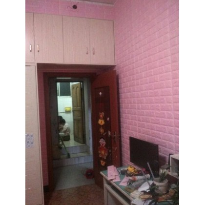 3D Pink Brick Pattern Wall Home Decoration -7077 Pink