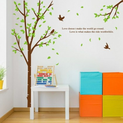 Beautiful Large Tree For Wall Background - TYJM7095