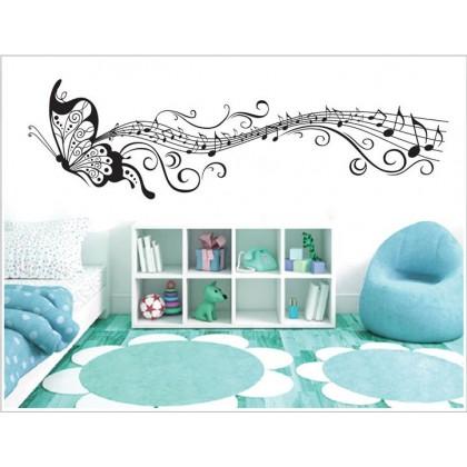 Black Butterflies Wall Stickers - TYXY6023