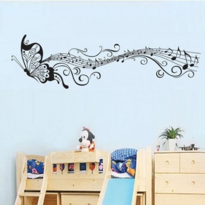 Black Butterflies Wall Stickers - TYXY6023