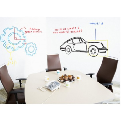 PVC Removable Erasable Whiteboard Stickers- YP16