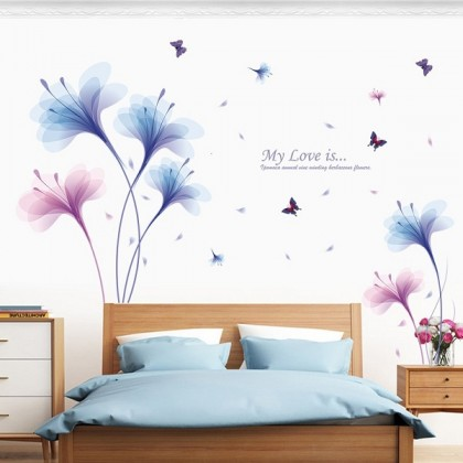 Beautiful Flowers Background Wall Art Decoration-TYXL8262