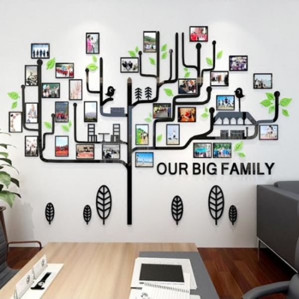 creative office inspirational 3d wall stickers- ac112